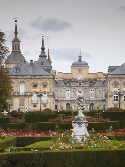 Royal Palace of King Philip V, San Ildefonso, Spain-Walter Bibikow-Photographic Print