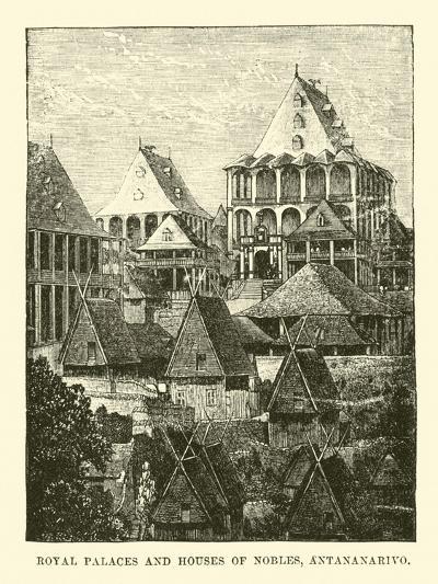 Royal Palaces and Houses of Nobles, Antananarivo--Giclee Print