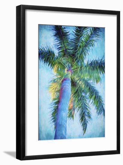 Royal Palm Caribbean II-Melinda Bradshaw-Framed Premium Giclee Print