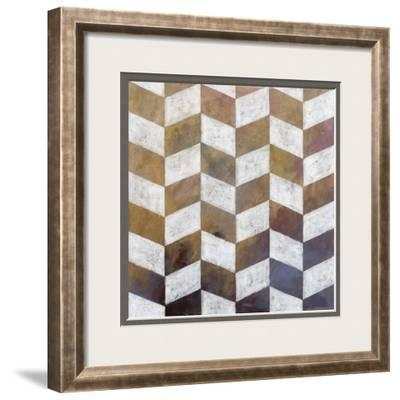 Royal Pattern IV-Megan Meagher-Framed Giclee Print