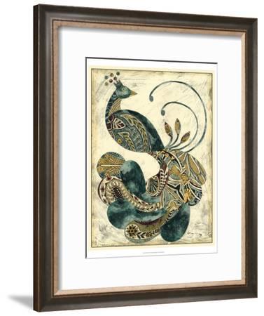 Royal Peacock I-Chariklia Zarris-Framed Art Print