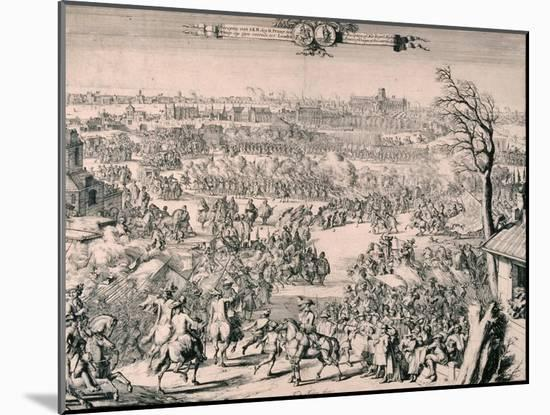 Royal Procession of King William III, 1688-Romeyn De Hooghe-Mounted Giclee Print