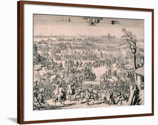 Royal Procession of King William III, 1688-Romeyn De Hooghe-Framed Giclee Print
