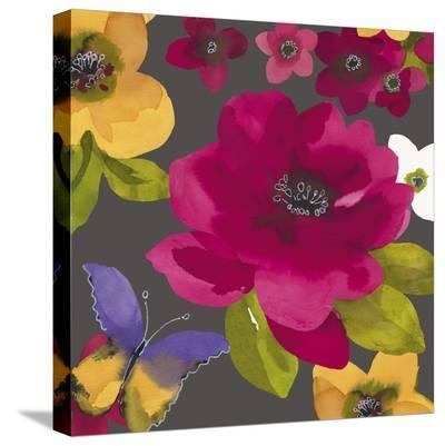Royal Roses I-Sandra Jacobs-Stretched Canvas Print