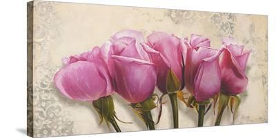 Royal Roses-Elena Dolci-Stretched Canvas Print