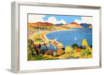 Royal Rothesay, the Holiday Capital of the Clyde-Robert Houston-Framed Giclee Print