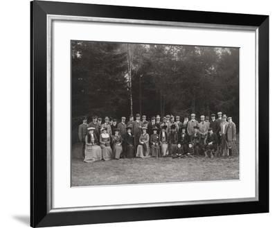 Royal Shooting Party, c.1902-James Lafayette-Framed Giclee Print