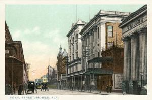 Royal Street, Mobile, Alabama