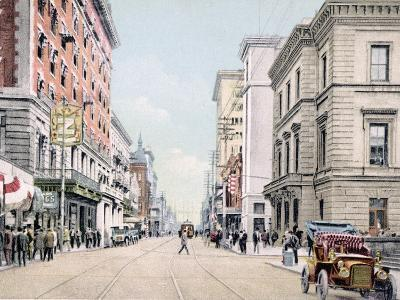 Royal Street South from St. Francis Mobile Alabama--Giclee Print
