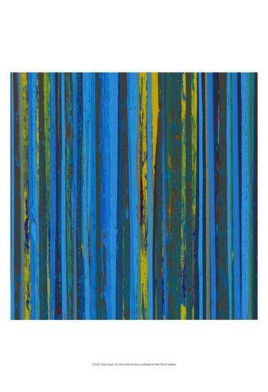 Royal Stripes I-Ricki Mountain-Art Print