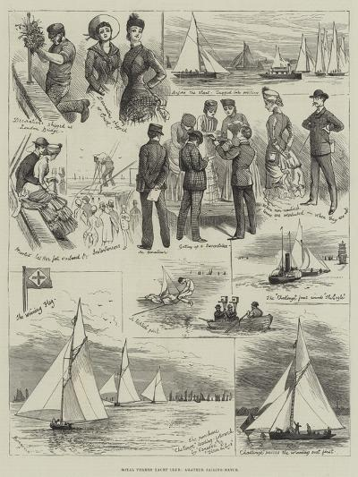 Royal Thames Yacht Club, Amateur Sailing Match-Alfred Courbould-Giclee Print