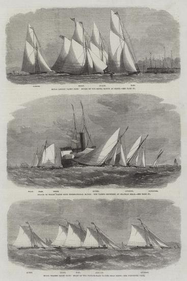 Royal Thames Yacht Club-Edwin Weedon-Giclee Print