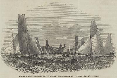 Royal Thames Yacht Club--Giclee Print