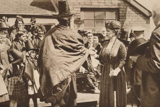 Royal tour of Wales, c1920s (1935)-Unknown-Photographic Print