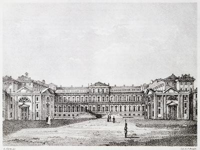 Royal Villa in Monza-Giuseppe Elena-Giclee Print
