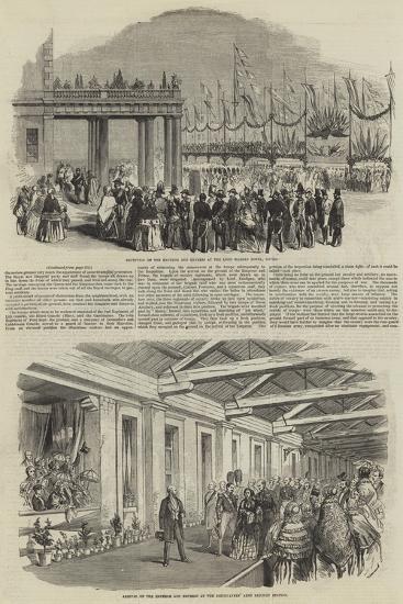 Royal Visit of Napoleon III--Giclee Print