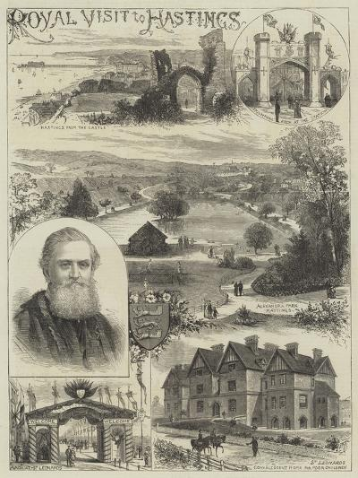 Royal Visit to Hastings--Giclee Print