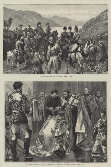Royal Visit to Ireland-William Heysham Overend-Giclee Print