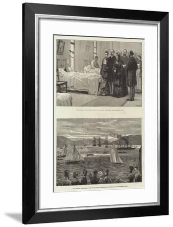 Royal Visit to Scotland-Frank Dadd-Framed Giclee Print