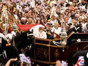 Royal Wedding of Prince Charles and Lady Diana Spencer July 1981