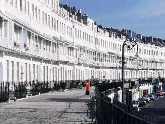 Royal York Crescent, Bristol, England, United Kingdom-Rob Cousins-Photographic Print