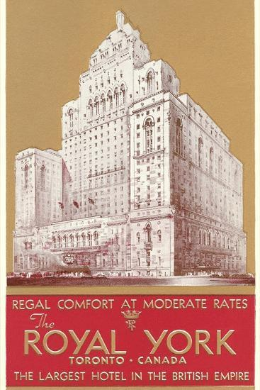 Royal York Hotel, Toronto--Art Print