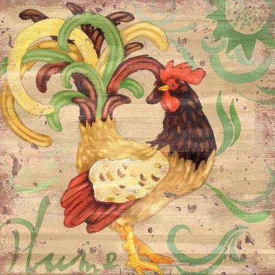 Royale Rooster III-Paul Brent-Art Print