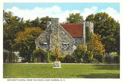 Roycroft Chapel, East Aurora