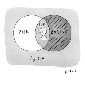 fig. 1-A - New Yorker Cartoon by Roz Chast