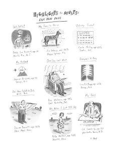 Highlights for Adults: Our Own Page - New Yorker Cartoon by Roz Chast