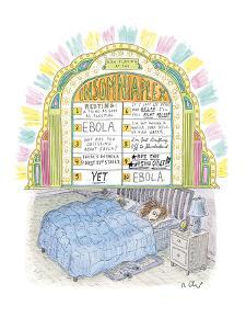 Insomniaplex - New Yorker Cartoon by Roz Chast