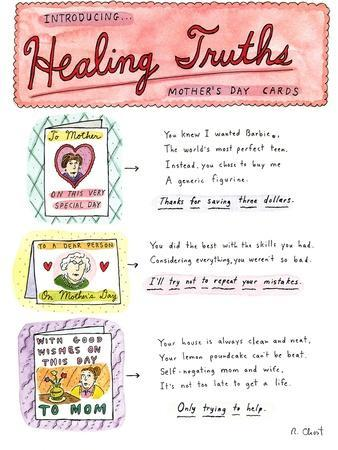 Introducing . . .Healing Truths Mother's Day Cards - New Yorker Cartoon