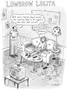 Lowbrow Lolita - New Yorker Cartoon by Roz Chast