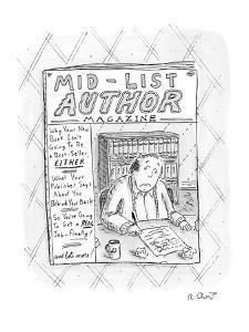 Mid-List Author Magazine - New Yorker Cartoon by Roz Chast