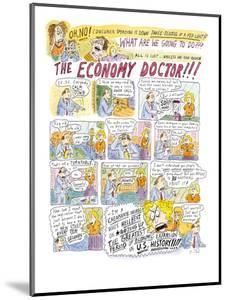 The Economy Doctor - New Yorker Cartoon by Roz Chast