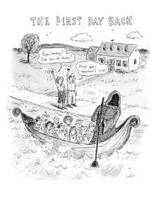 The First Day Back - New Yorker Cartoon by Roz Chast