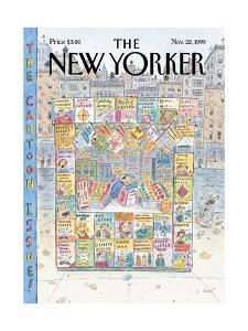 The New Yorker Cover - November 22, 1999 by Roz Chast