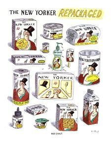 The New Yorker Repackaged - New Yorker Cartoon by Roz Chast