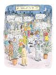 The New Car - New Yorker Cartoon-Roz Chast-Premium Giclee Print