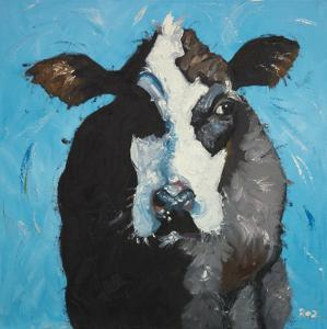 Cow, no. 302 by Roz