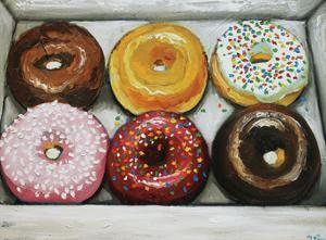 Donuts 13 by Roz