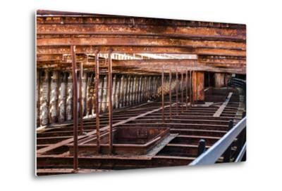 Rusting Ship Structure