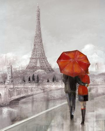 Modern Couple in Paris by Ruane Manning