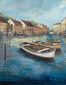 Tranquil Harbor I by Ruane Manning