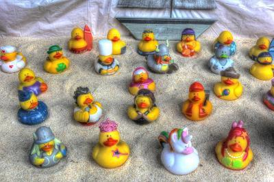 Rubber Duckies-Robert Goldwitz-Giclee Print