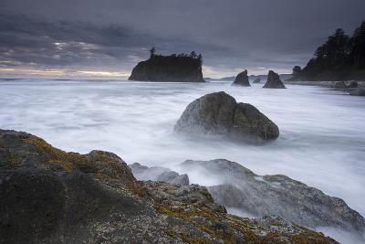 Ruby Beach in Washington's Olympic National Park-Keith Ladzinski-Photographic Print