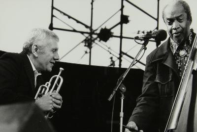 Ruby Braff and Slam Stewart at the Capital Jazz Festival, Alexandra Palace, London, July 1979-Denis Williams-Photographic Print