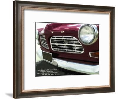 Ruby Vintage Car 18X24-Lisa Weedn-Framed Giclee Print