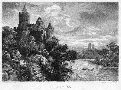 Rudelsburg, Germany, C1900-Carl Jander-Giclee Print