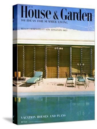 House & Garden Cover - June 1952